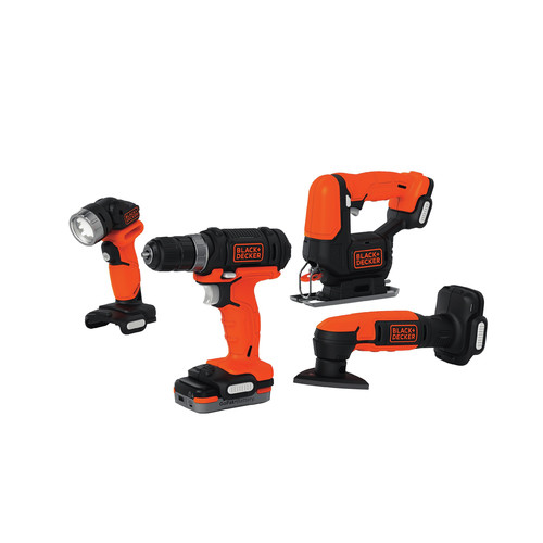 Black & Decker BDCK502C1 GoPak 4-Tool Combo Kit image number 0