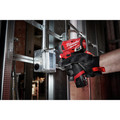 Milwaukee 2593-22 M12 FUEL Brushless Lithium-Ion 1/4 in. Cordless  Hex Impact Driver / HACKZALL One-Handed Reciprocating Saw Combo Kit (2 Ah/ 4 Ah) image number 12
