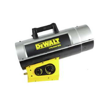 Dewalt F340730 125,000 - 170,000 Forced Air Propane Heater image number 0