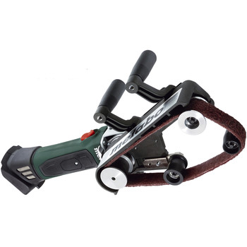Metabo 600192850 18V Cordless Lithium-Ion 21 in. x 1-3/16 in. Pipe/Belt Sander (Tool Only) image number 1