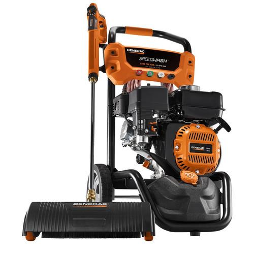 Generac 7122 3,200 PSI 2.7 GPM SpeedWash Gas Pressure Washer