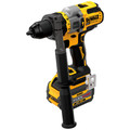 Dewalt DCD999T1 20V MAX Brushless Lithium-Ion 1/2 in. Cordless Hammer Drill Driver Kit with FLEXVOLT ADVANTAGE (6 Ah) image number 3