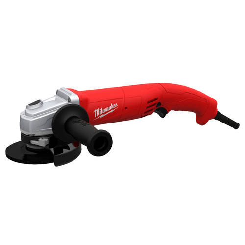 Milwaukee 6121-30 4-1/2 in. 11.0 Amp Trigger Switch/Grip Grinder with Lock-On Button