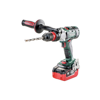Metabo 602357620 18V LTX-3 SB 18 BL Q I LiHD 3-Speed Brushless 1/2 in. Cordless Hammer Drill Kit (5.5 Ah) image number 1