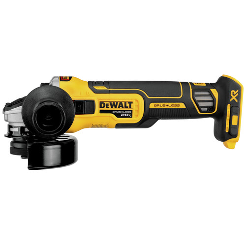 Dewalt DCG405B 20V MAX 4.5 in. Slide Switch Cordless Small Angle Grinder with Kickback Brake (Tool Only) image number 0