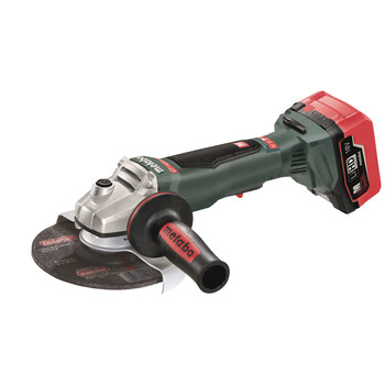 Metabo 613076640 18V 6.2 Ah Cordless LiHD 6 in. Brushless Angle Grinder Kit image number 1