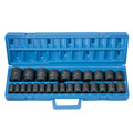 Grey Pneumatic 1326M 26-Piece 1/2 in. Drive 6-Point Metric Master Standard Impact Socket Set image number 1