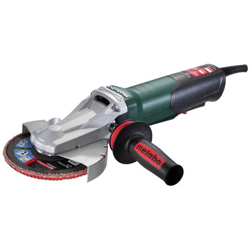 Metabo 613084420 Quick 13.5 Amp 6 in. Flat Head Grinder with Paddle Switch image number 0