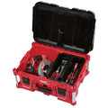 Milwaukee 8425-8431-BNDL PACKOUT Large Tool Box and Low-Profile Organizer Bundle image number 3