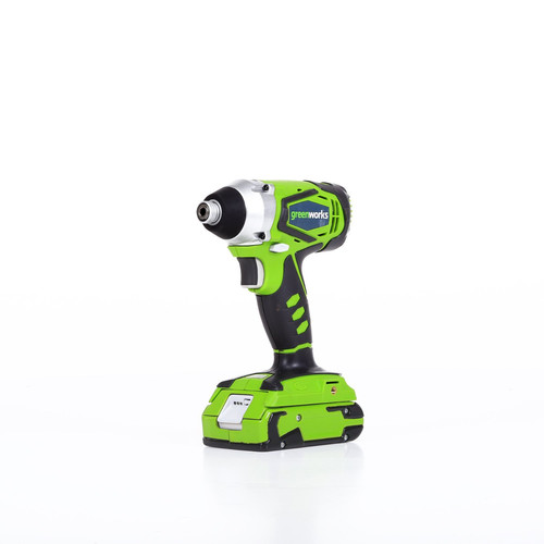 Greenworks 37032B G-24 24V Cordless Lithium-Ion 1/4 in. Hex Impact Driver image number 0