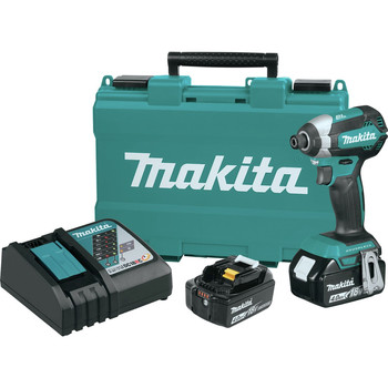 Factory Reconditioned Makita XDT13M-R 18V 4.0Ah LXT Lithium-Ion Brushless Cordless Impact Driver Kit image number 0