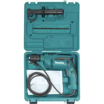 Factory Reconditioned Makita HP1641K-R 5/8 in. Hammer Drill Kit image number 2