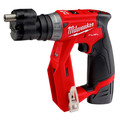 Factory Reconditioned Milwaukee 2505-82 M12 FUEL Brushless Lithium-Ion 3/8 in. Cordless Installation Drill Driver Kit (2 Ah) image number 4