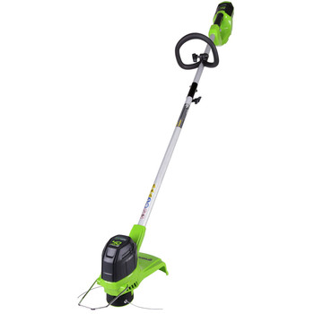 Greenworks 2101602 2101602 G-MAX 40V String Trimmer with 2 Ah Battery and Charger