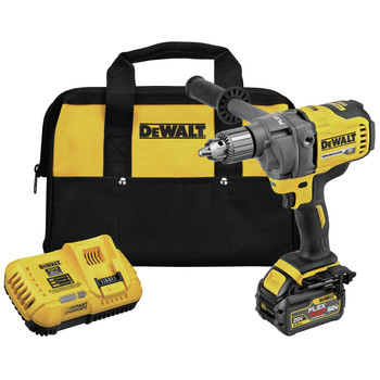 Dewalt DCD130T1 FLEXVOLT 60V MAX Lithium-Ion 1/2 in. Cordless Mixer/Drill Kit with E-Clutch System (6 Ah)