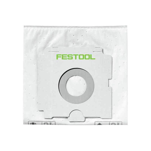 Festool 496186 SELFCLEAN Filter Bag for CT 36 (5-Pack)