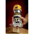 Dewalt DWP611 1-1/4 HP Variable Speed Premium Compact Router with LED image number 10
