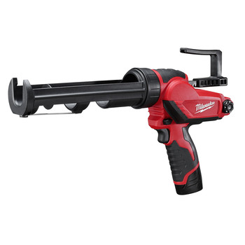 Milwaukee 2441-21 M12 12V Cordless Lithium-Ion 10 oz. Caulk and Adhesive Gun Kit