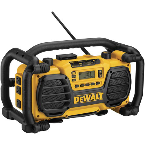Factory Reconditioned Dewalt DC012R 7.2 - 18V XRP Cordless Worksite Radio and Charger