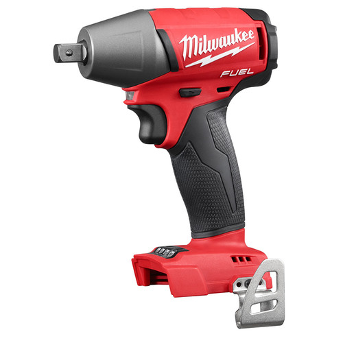 Milwaukee 2755-20 M18 FUEL Cordless Lithium-Ion 1/2 in. Compact Impact Wrench with Pin Detent (Tool Only)