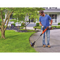 Black & Decker LST522 20V MAX 2.5 Ah Cordless Lithium-Ion 12 in. 2-Speed String Trimmer/Edger Kit image number 5