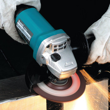 Factory Reconditioned Makita 9557PB-R 4-1/2 in. Paddle Switch AC/DC Angle Grinder image number 1