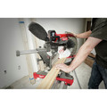 Milwaukee 2739-20 M18 FUEL Cordless Lithium-Ion 12 in. Dual Bevel Sliding Compound Miter Saw (Tool Only) image number 2