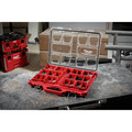 Milwaukee 8425-8431-BNDL PACKOUT Large Tool Box and Low-Profile Organizer Bundle image number 9