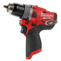 Milwaukee 2504-20 M12 FUEL Lithium-Ion 1/2 in. Cordless Hammer Drill (Tool Only) image number 1