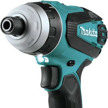 Makita XPT02Z 18V LXT Lithium-Ion Brushless Hybrid 4-Function 1/4 in. Cordless Impact Hammer Drill Driver (Tool Only) image number 3