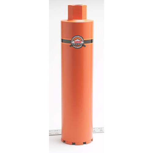 MK Diamond 156356 MK Orange 3 in. Premium Grade Core Bit for Concrete & Asphalt