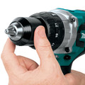 Factory Reconditioned Makita XPH07MB-R 18V LXT Lithium-Ion Brushless 1/2 in. Cordless Hammer Drill Driver Kit (4 Ah) image number 8