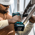 Makita GWT05D 40V Max Brushless Lithium-Ion 1/2 in. Cordless 4-Speed Impact Wrench with Detent Anvil Kit (2.5 Ah) image number 8