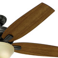 Hunter 54161 56 in. Newsome Premier Bronze Ceiling Fan with Light image number 5
