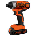 Black & Decker BDCI20C 20V MAX Cordless Lithium-Ion Impact Driver image number 2
