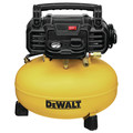 Dewalt DWFP1KIT 18 Gauge Brad Nailer and 6 Gallon Oil-Free Pancake Air Compressor Combo Kit image number 1