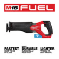 Milwaukee 2822-20 M18 FUEL SAWZALL Brushless Lithium-Ion Cordless Reciprocating Saw with ONE-KEY (Tool Only) image number 2