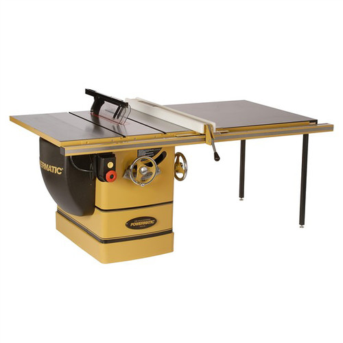Powermatic PM3000 7-1/2 HP 14 in. Three Phase Left Tilt Table Saw with 50 in. Accu-Fence and Riving Knife