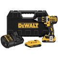 Dewalt DCD790D2 20V MAX XR Cordless Lithium-Ion 1/2 in. Brushless Compact Drill Driver Kit
