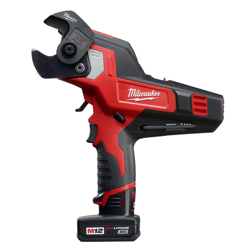 Milwaukee 2472-21XC M12 12V Cordless Lithium-Ion 600 MCM Cable Cutter Kit with XC Battery image number 0