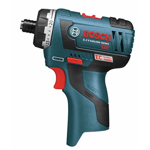 Bosch PS22BN 12V Max Cordless Lithium-Ion Brushless Pocket Driver (Bare Tool) with L-BOXX Insert Tray