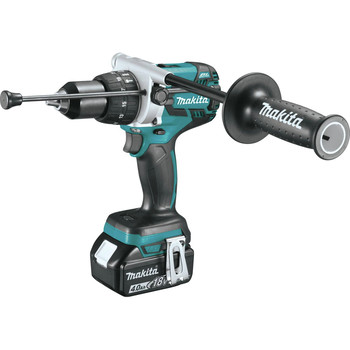 Factory Reconditioned Makita XPH07M-R 18V LXT Lithium-Ion Brushless 1/2 in. Cordless Hammer Drill Driver Kit (4 Ah) image number 1