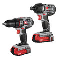 Porter-Cable PCCK602L2 20V MAX 1.5 Ah Cordless Lithium-Ion 2-Tool Combo Kit