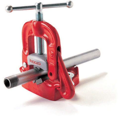 Ridgid 23 3 in. Bench Yoke Vise image number 0