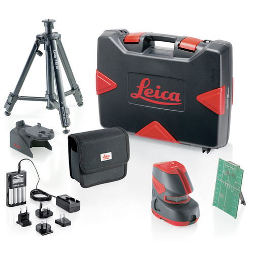 Leica Lino L2G+ 180 Degree Green Cross Line Laser Pro Kit image number 0