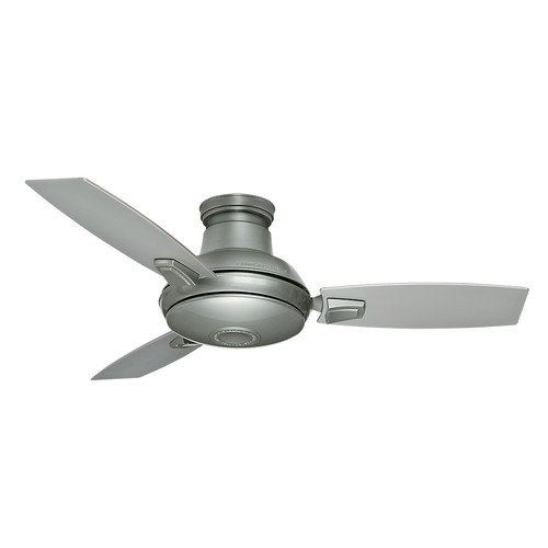 Casablanca 59155 44 in. Verse Satin Nickel Ceiling Fan with Light and Remote image number 3
