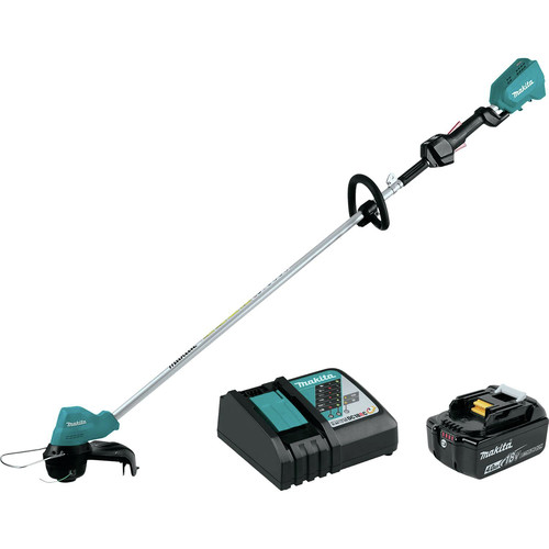 Makita XRU11M1 18V LXT Lithium-Ion Brushless Cordless String Trimmer Kit (4.0Ah) image number 0