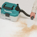 Makita XCV11Z 18V LXT Lithium-Ion Brushless 2 Gallon HEPA Filter Portable Wet/Dry Dust Extractor/Vacuum (Tool Only) image number 8