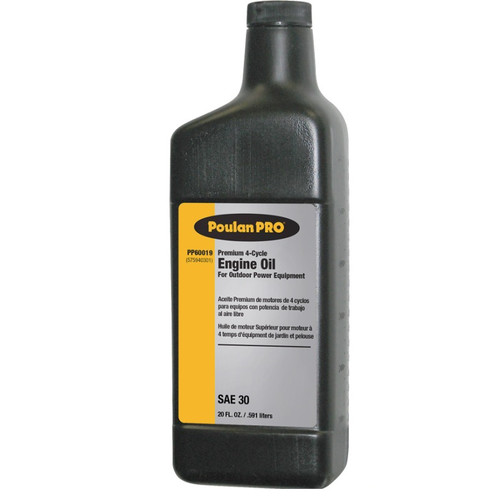 Poulan Pro 575940301 20 oz. 4-Cycle Engine Oil