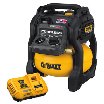 Dewalt DCC2560T1 60V MAX FLEXVOLT 2.5 Gallon Oil-Free Pancake Air Compressor Kit